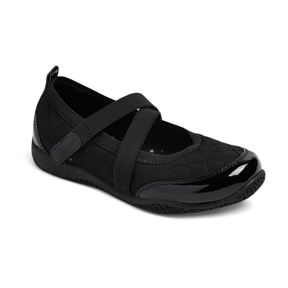 Girls Harper Sport Mary Jane Ballet Flats Cat & Jack - Black 2