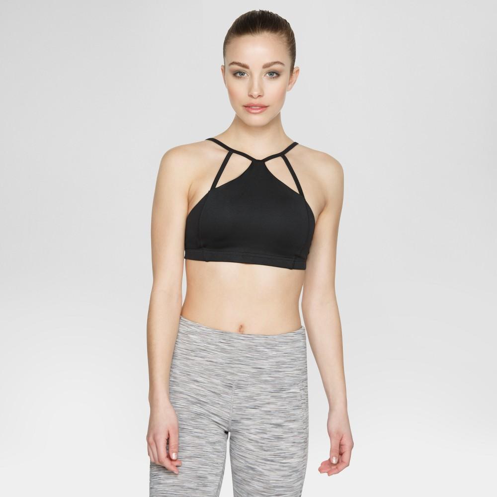 Velvet Rose Womens Sports Bra - Black/Spacedye L, Black Space Dye