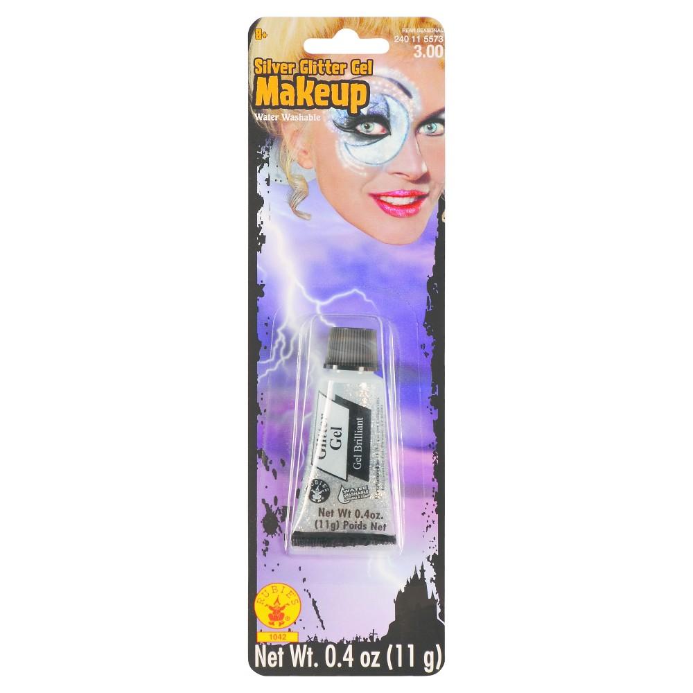 Adult Silver Glitter Gel Makeup, Adult Unisex, Multi-Colored