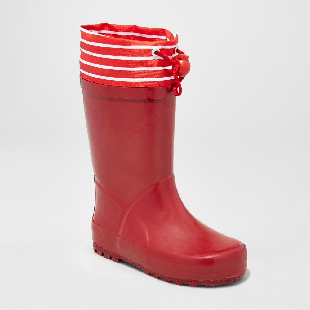 Toddler Harlee Rain Boots Cat & Jack Red M, Toddler Unisex, Size: M (7-8)