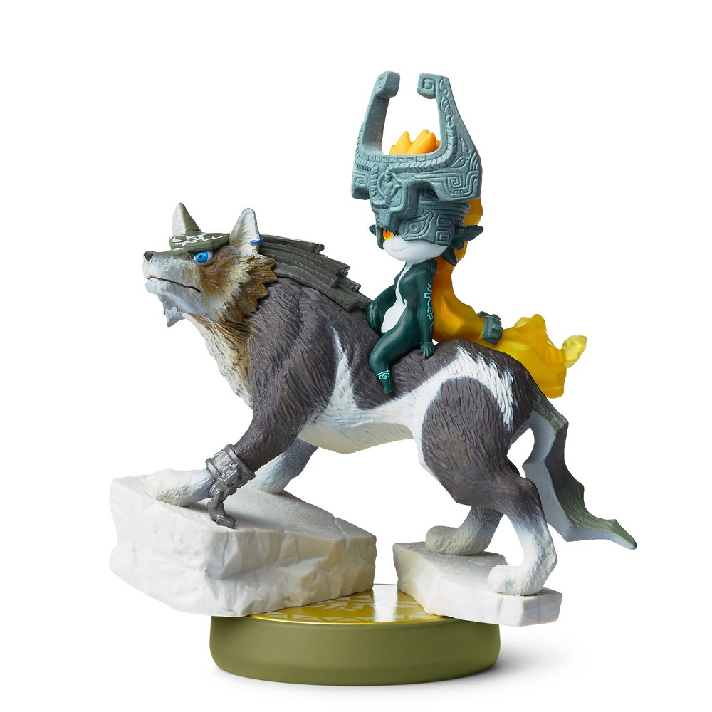 Nintendo Wolf Link: Twilight Princess amiibo Figure, Multi-Colored