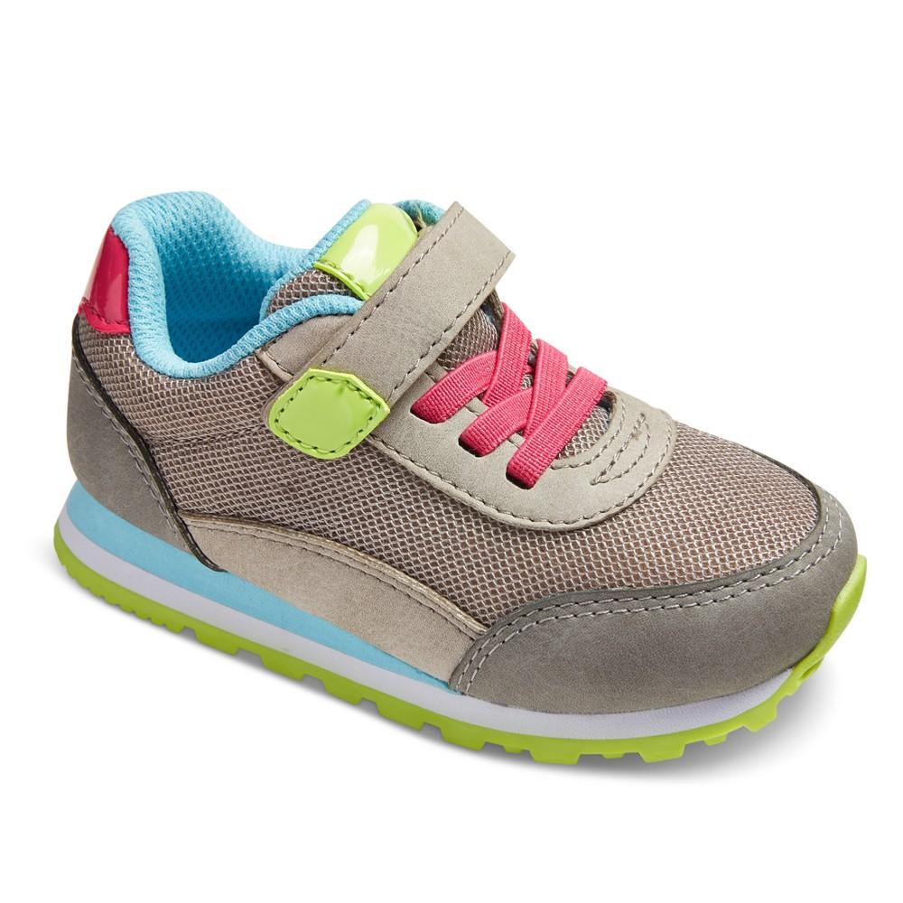 Toddler Girls Tabatha Sneakers 6 - Cat & Jack - Gray