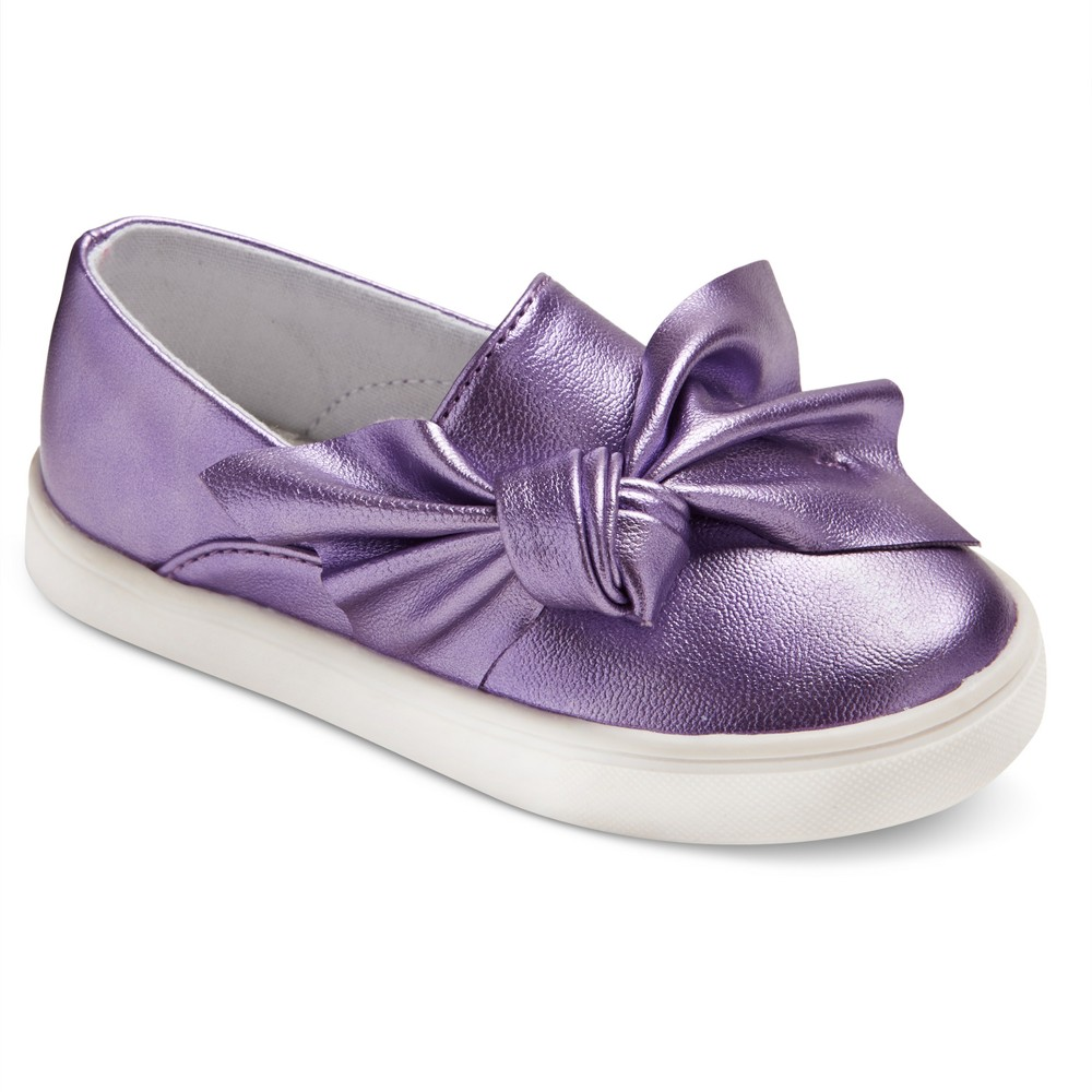 Toddler Girls Catina Low Top Sneakers 5 - Cat & Jack - Purple