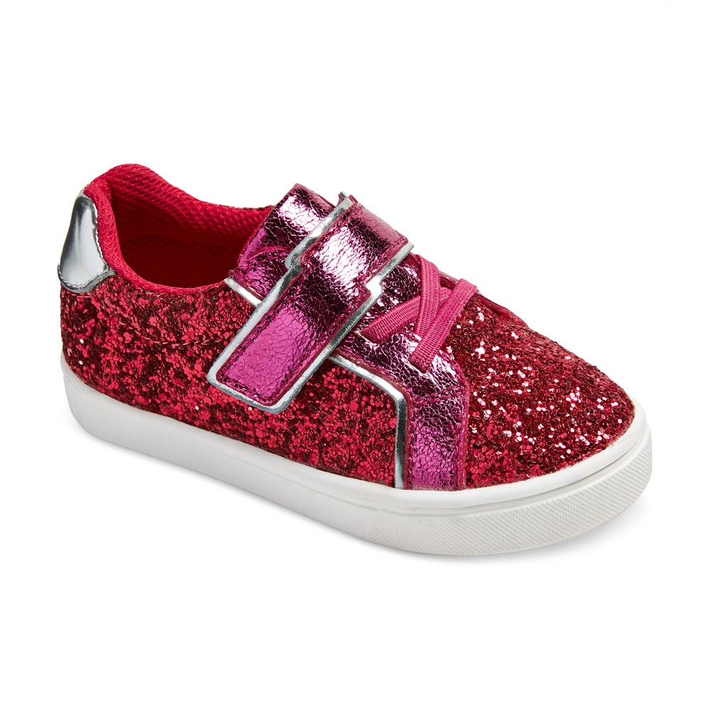 Toddler Girls Kindra Double Velcro Sneakers 11 - Cat & Jack - Pink