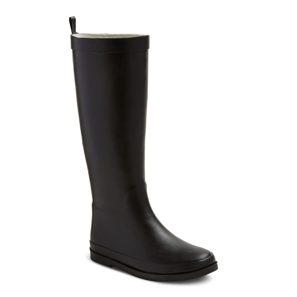 Girls Gretchen Classic Rain Boots Cat & Jack - Black 3