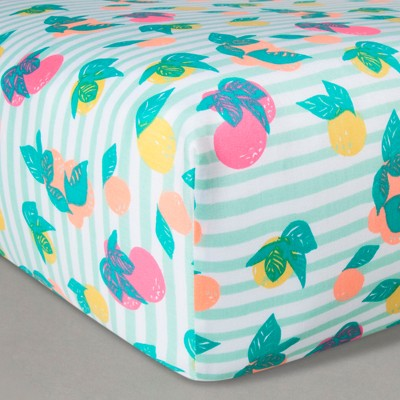 Oh Joy!® Woven Fitted Sheets - Fruit Stripes