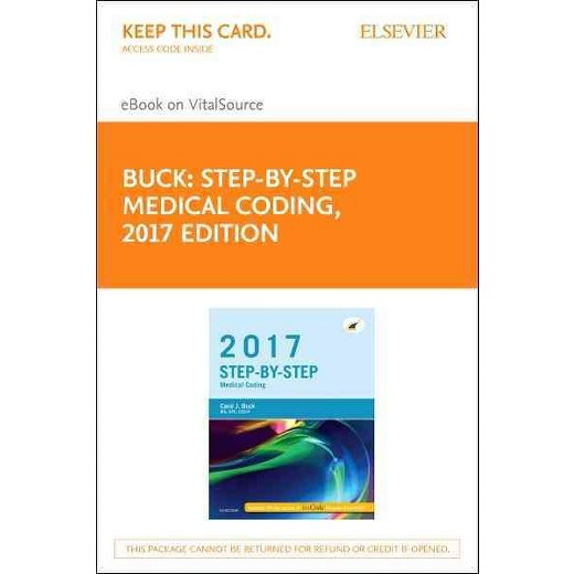 Step by step medical coding 2017 access code elsevier ebook on step by step medical coding 2017 access code elsevier ebook on vitalsource hardcover carol j buck fandeluxe Image collections