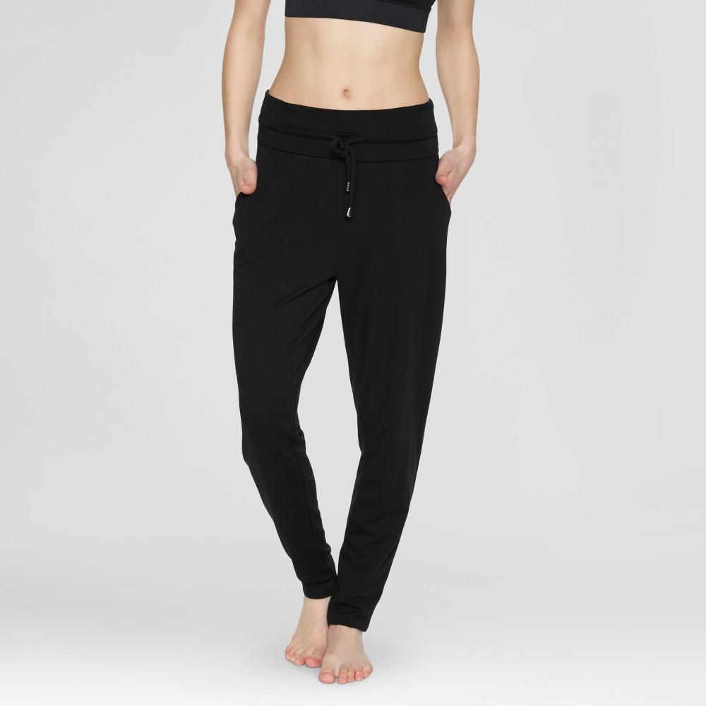 Velvet Rose Women's Jogger Pants - Black XL
