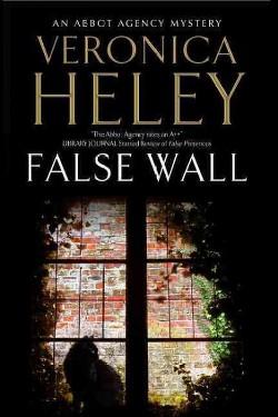 False Wall (Large Print) (Hardcover) (Veronica Heley)