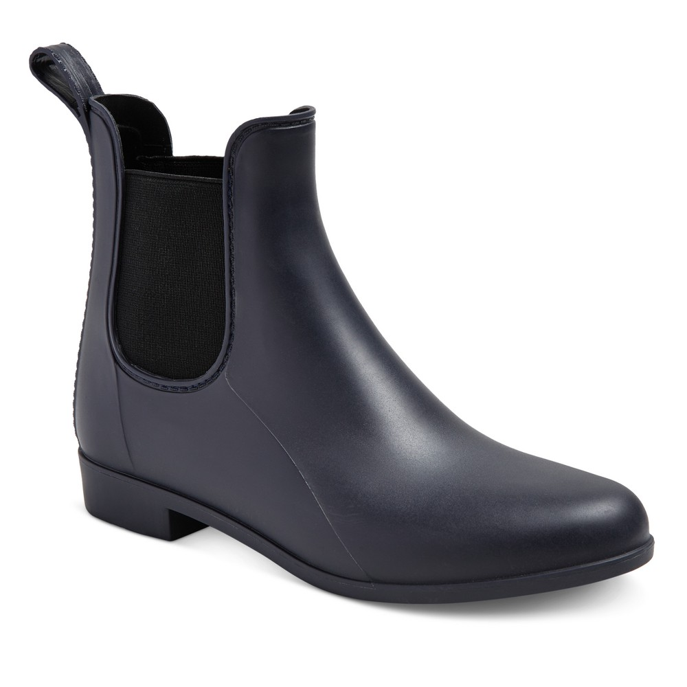 Womens Alex Rain Boots - Merona Navy (Blue) 7