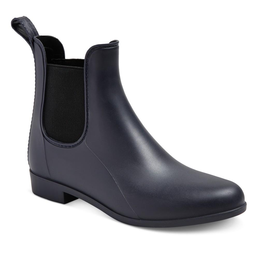 Womens Alex Rain Boots - Merona Navy (Blue) 7W
