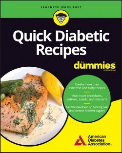 Quick Diabetic Meals for Dummies (Paperback)