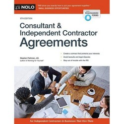 Consultant & Independent Contractor Agreements (Paperback) (Stephen Fishman)