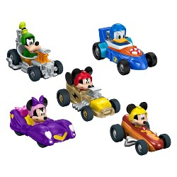 Fisher-Price Disney Mickey and the Roadster Racers Vehicle 5pk