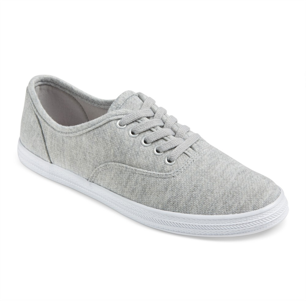 Womens Lunea Canvas Sneakers - Mossimo Supply Co. Gray 8