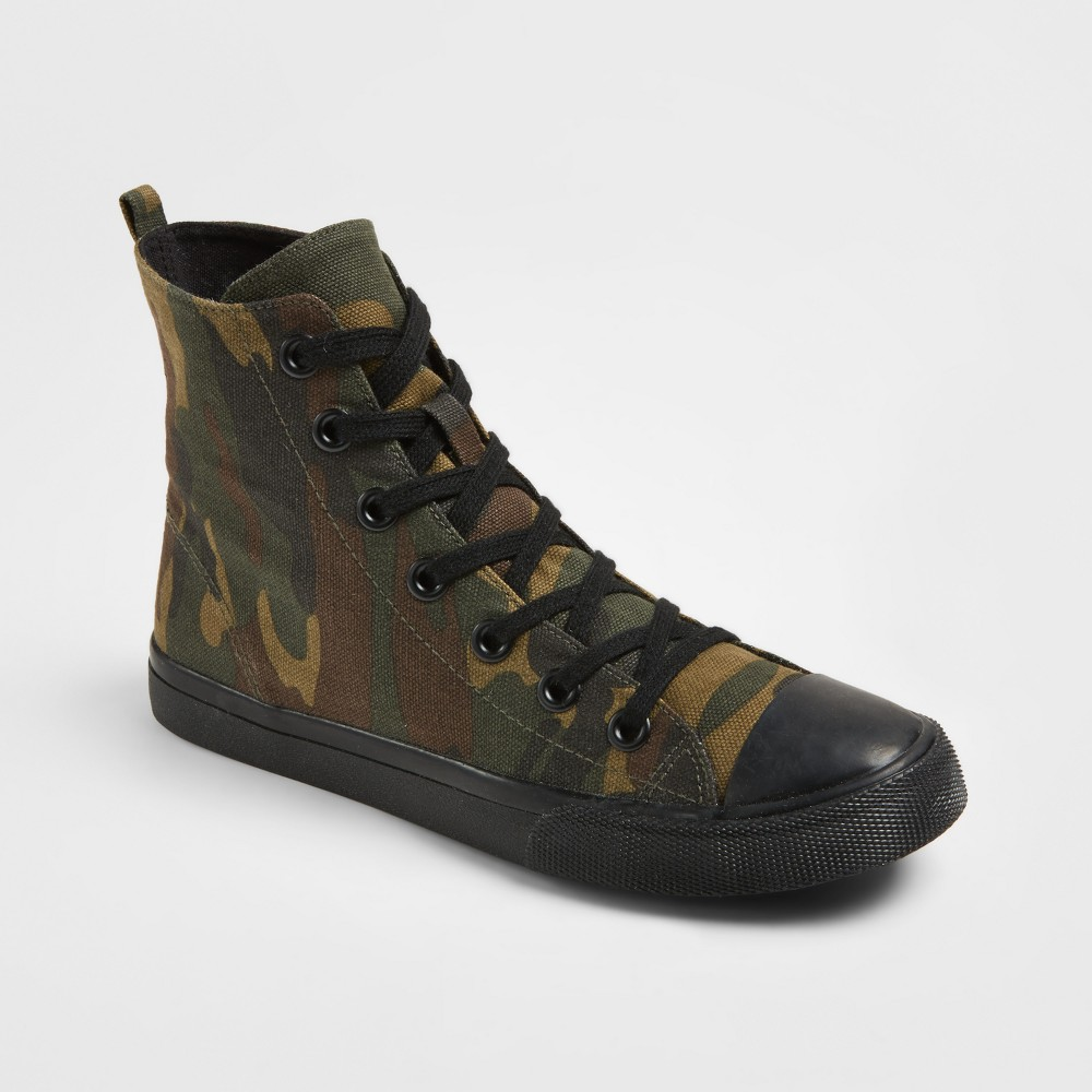 Womens Lux High Top Canvas Sneakers - Mossimo Supply Co. 11, Multicolored