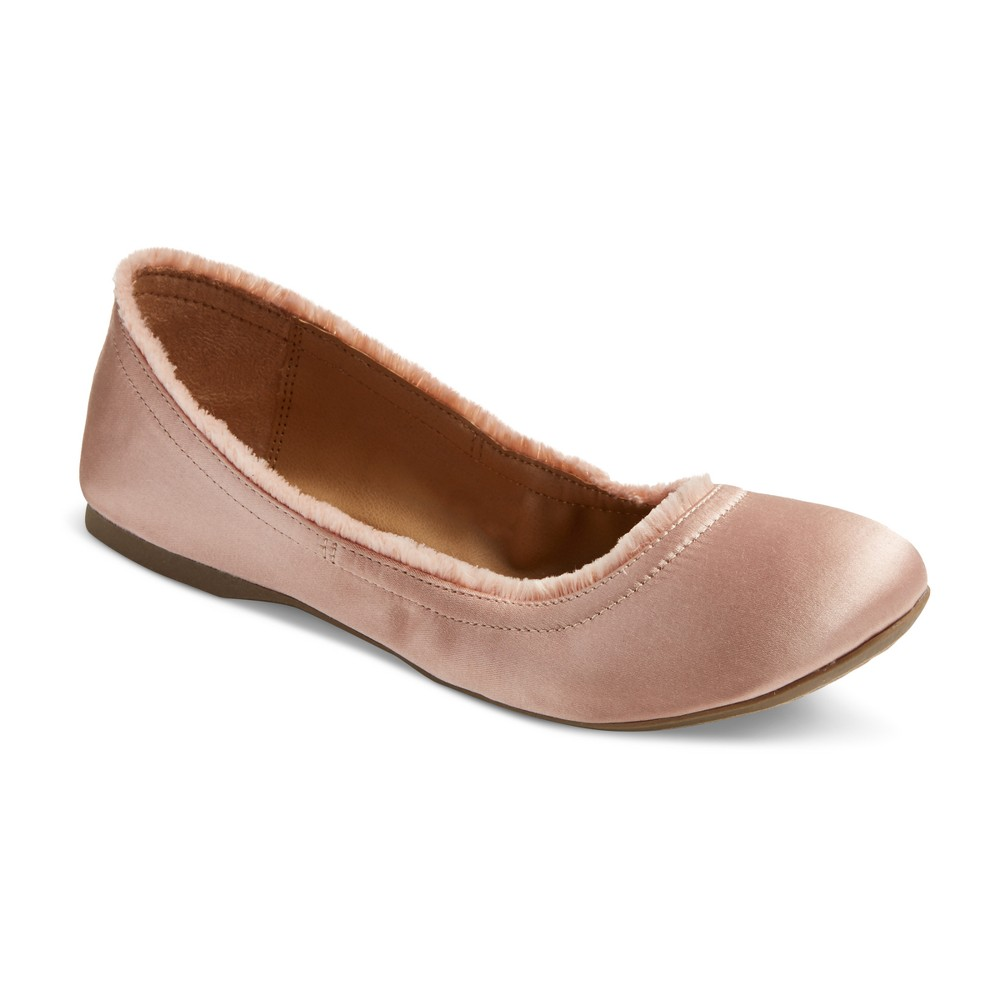 Womens Ona Round Toe Ballet Flats - Mossimo Supply Co. Pink 8.5
