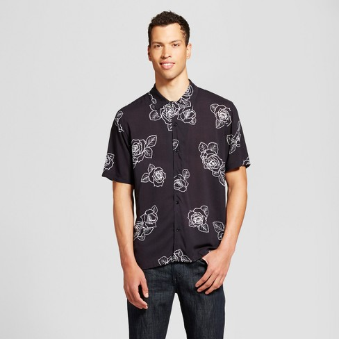 Men's Button Down Short Sleeve Woven - Jackson™ - image 1 of 2