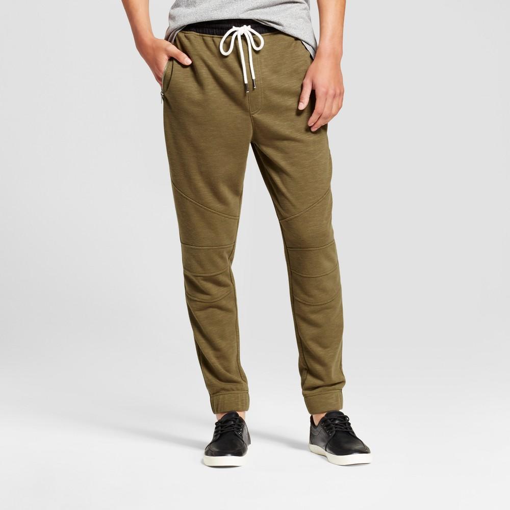 Jackson Mens Jogger Pants - Olive/Black (Green/Black) L