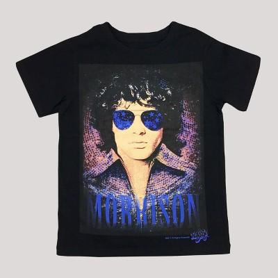 Toddler Boys' Jim Morrison T-Shirt Black - 12M