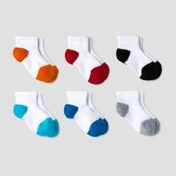 Baby Boys' Athletic Low Cut Socks 6pk - Cat & Jack™ Multicolor