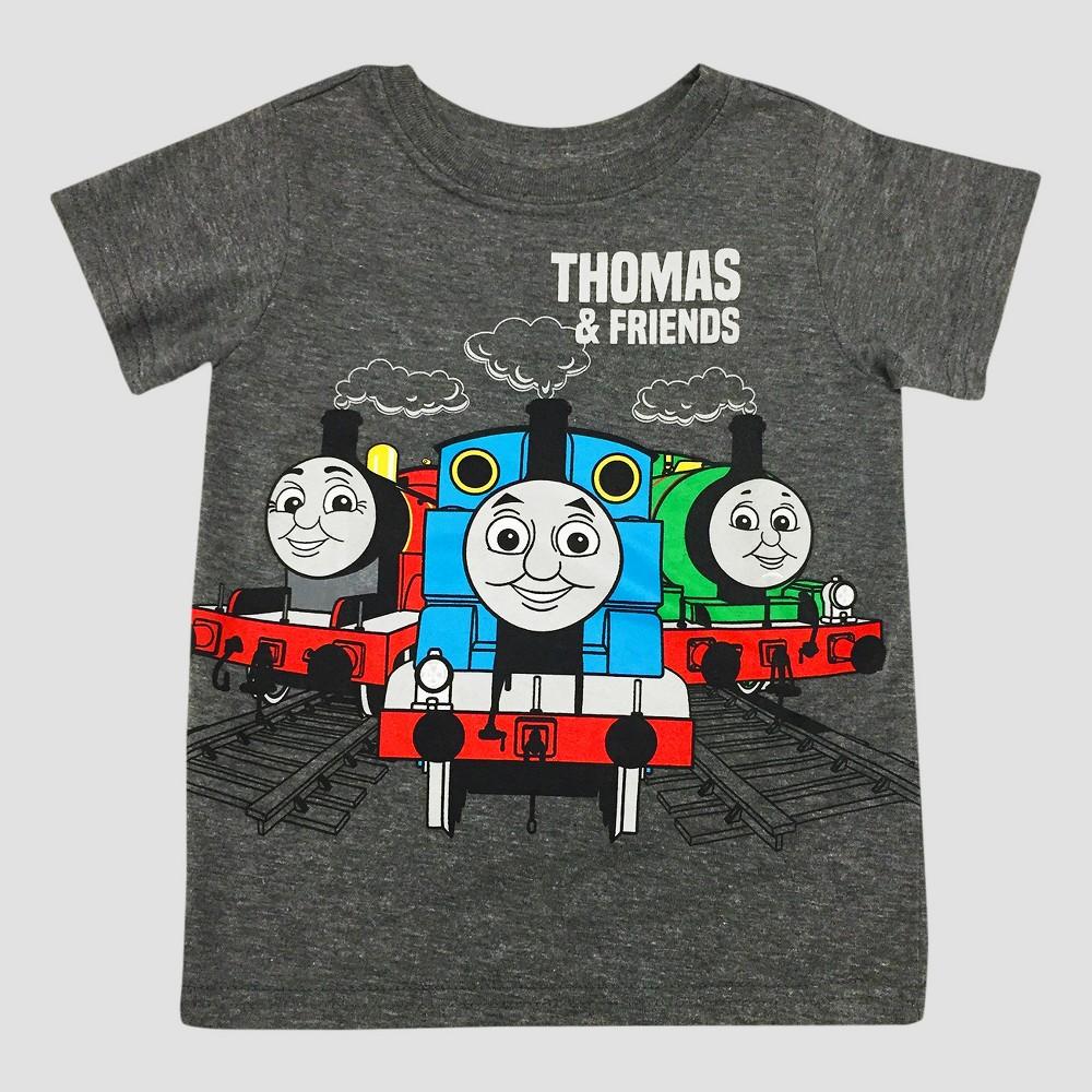 Toddler Boys Thomas & Friends Thomas the Tank Engine Thomas & Friends T-Shirt - Gray 3T