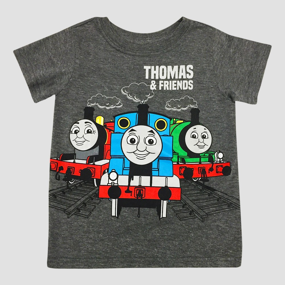 Toddler Boys Thomas & Friends Thomas the Tank Engine Thomas & Friends T-Shirt - Gray 4T