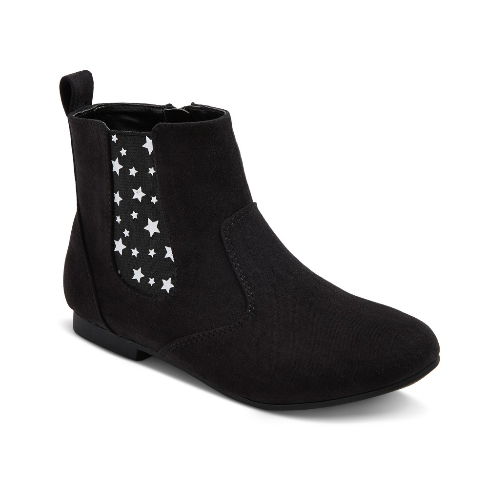 Girls Margie Ankle Chelsea Boots Cat & Jack - Black 1