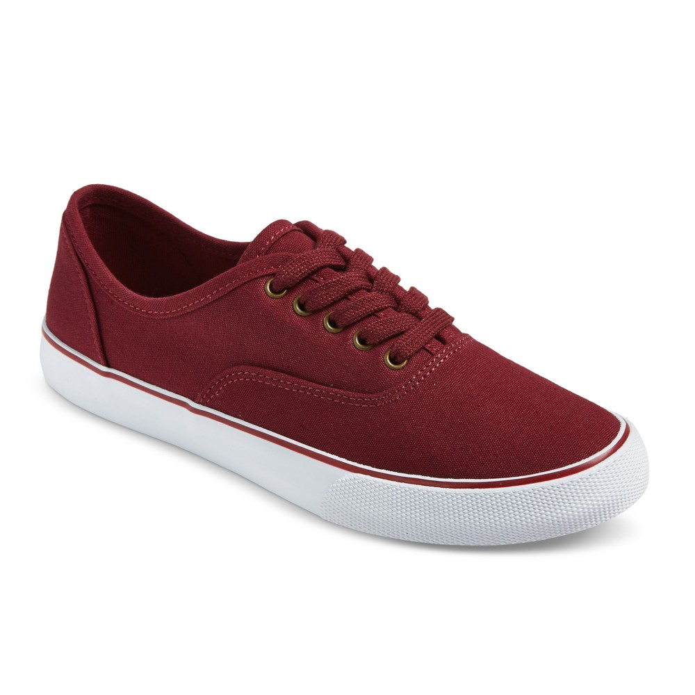 Womens Layla Canvas Sneakers - Mossimo Supply Co. Burgundy 8, Red