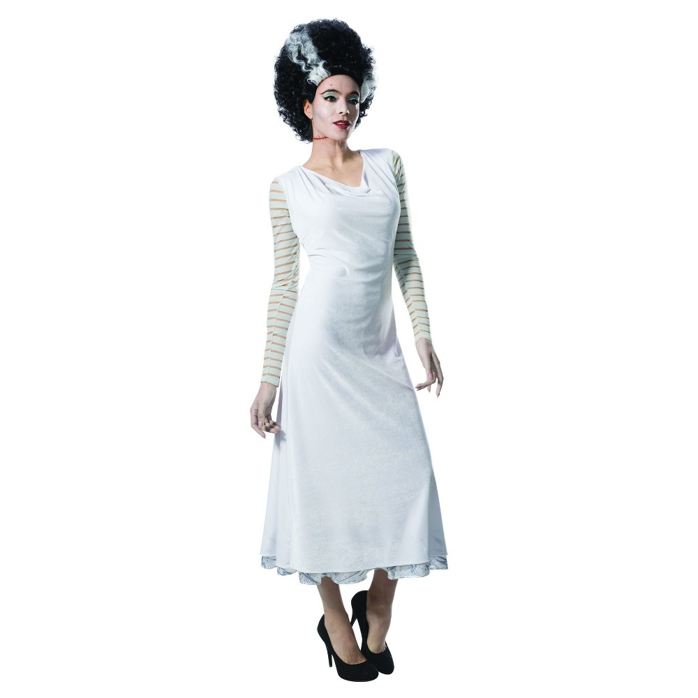 Womens Universal Studios Monsterville Bride of Frankenstein Deluxe Costume - M, Multicolored