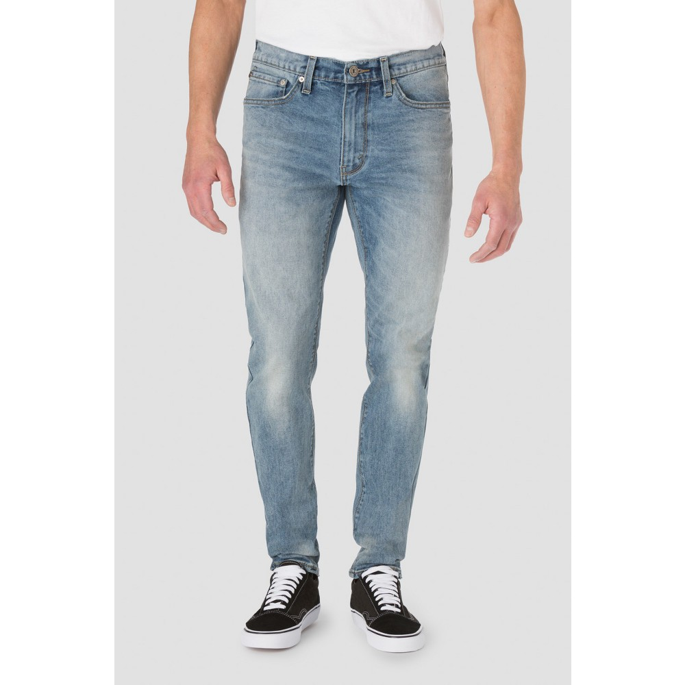Denizen from Levis Mens 208 Taper Fit Jeans - Sun-Up - 34 x 32, Size: 34x32, Blue