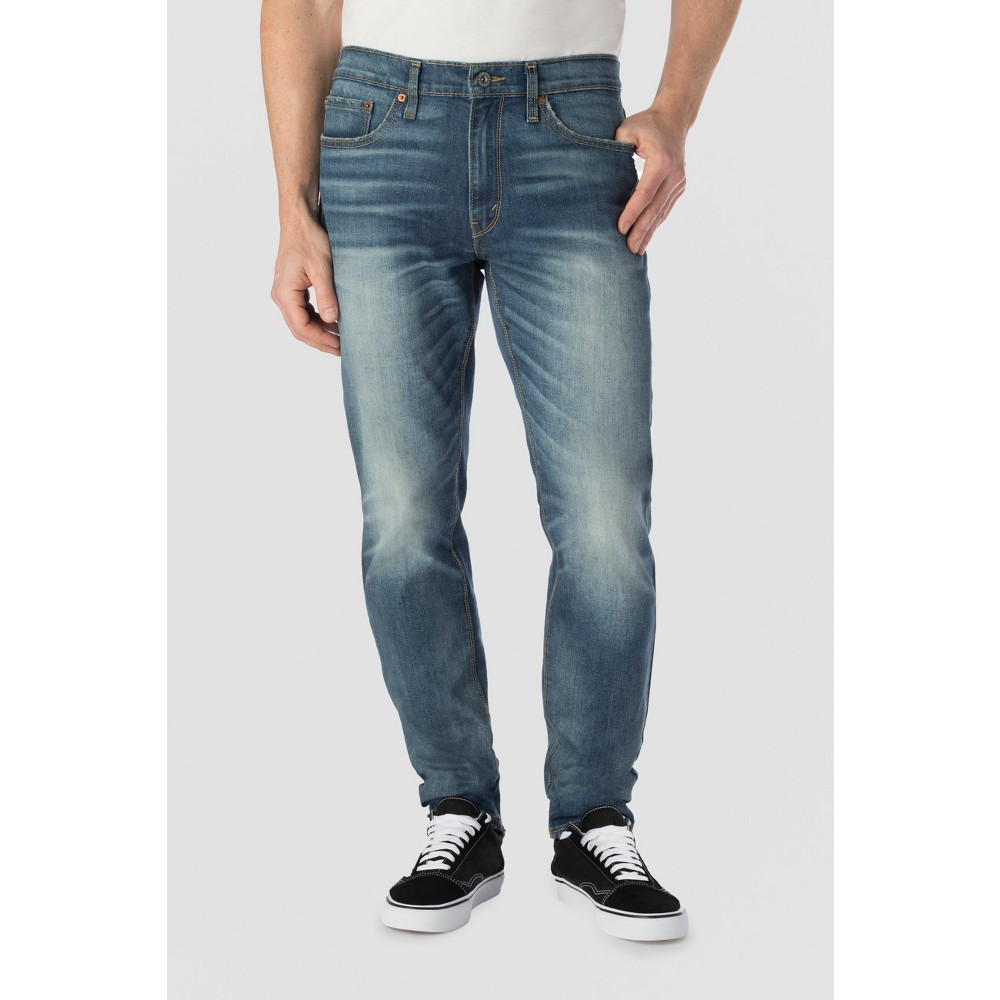 Denizen from Levis Mens 208 Taper Fit Jeans - Open Water - 33 x 32, Size: 33x32, Blue