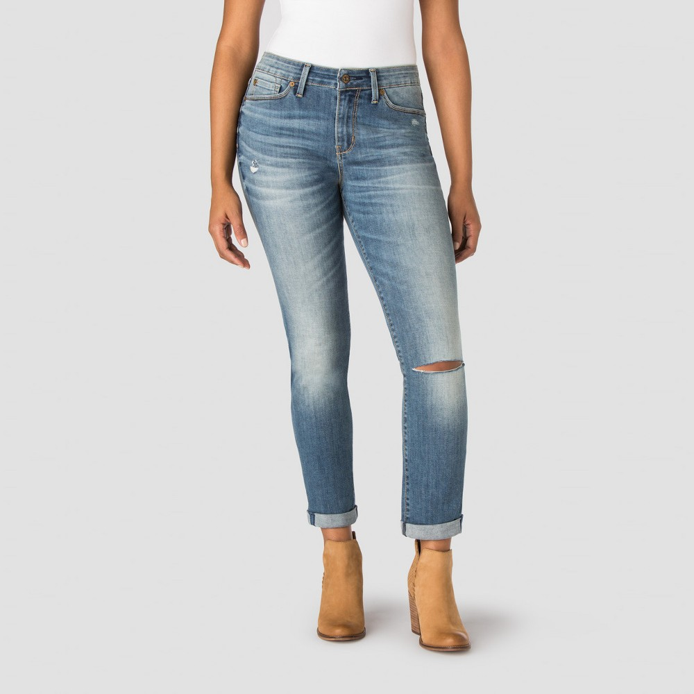 Denizen from Levis Womens Modern Cuffed Jeans - Illusion 2, Blue