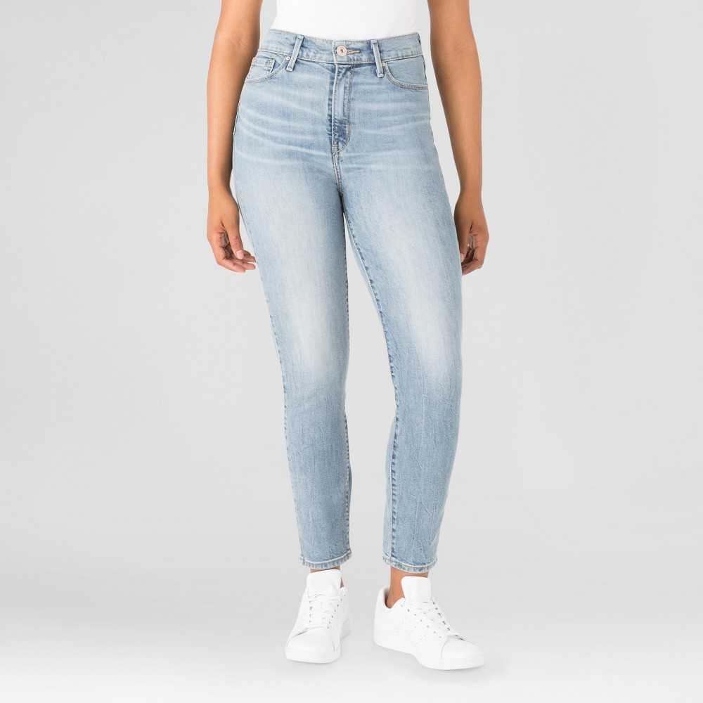 Denizen from Levis Womens Mom Jeans - (Juniors) Lennox 13, Size: 15, Blue