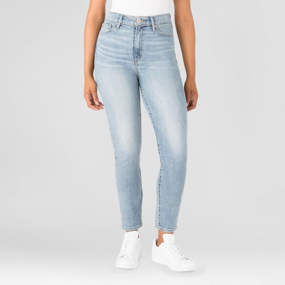 Denizen from Levis Womens Mom Jeans - (Juniors) Lennox 5, Blue