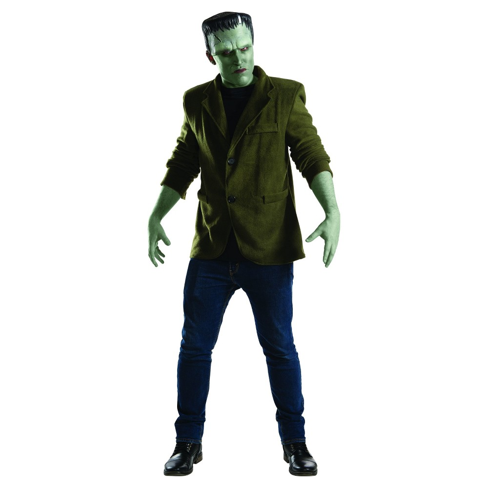 Mens Universal Studios Monsterville Frankenstein Deluxe Costume - S, Multicolored