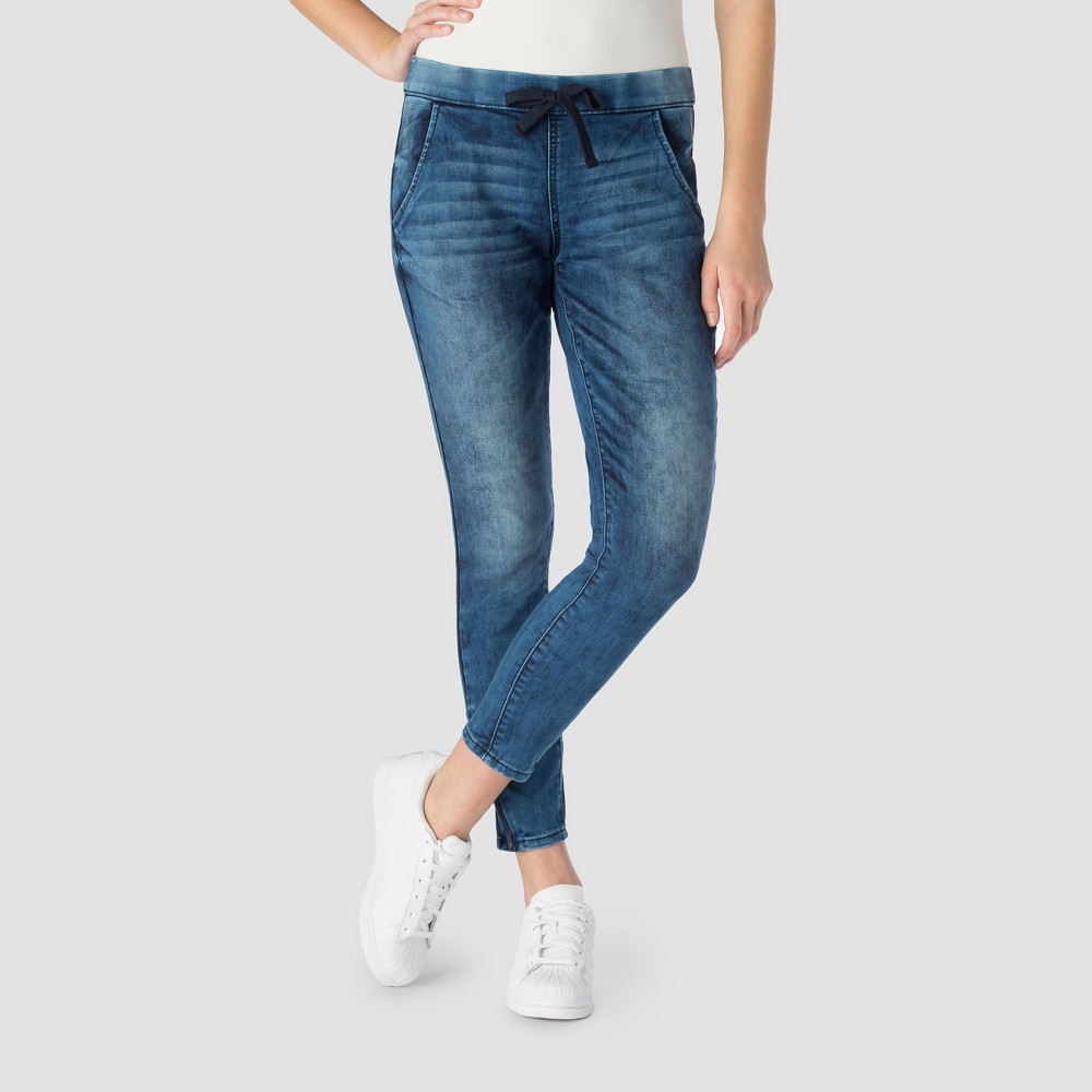 Denizen from Levis Womens Moto Jogger Jeans - (Juniors) Luna 9, Blue