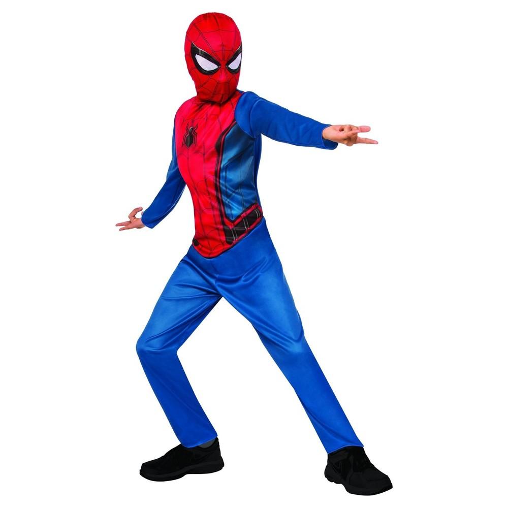 Boys Marvel Spider-Man Costume - M (7-8), Multicolored