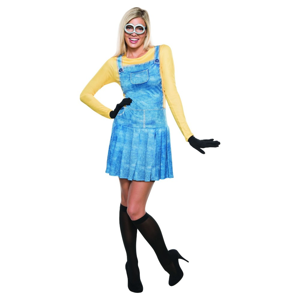 Womens Minions Costume - S, Multicolored