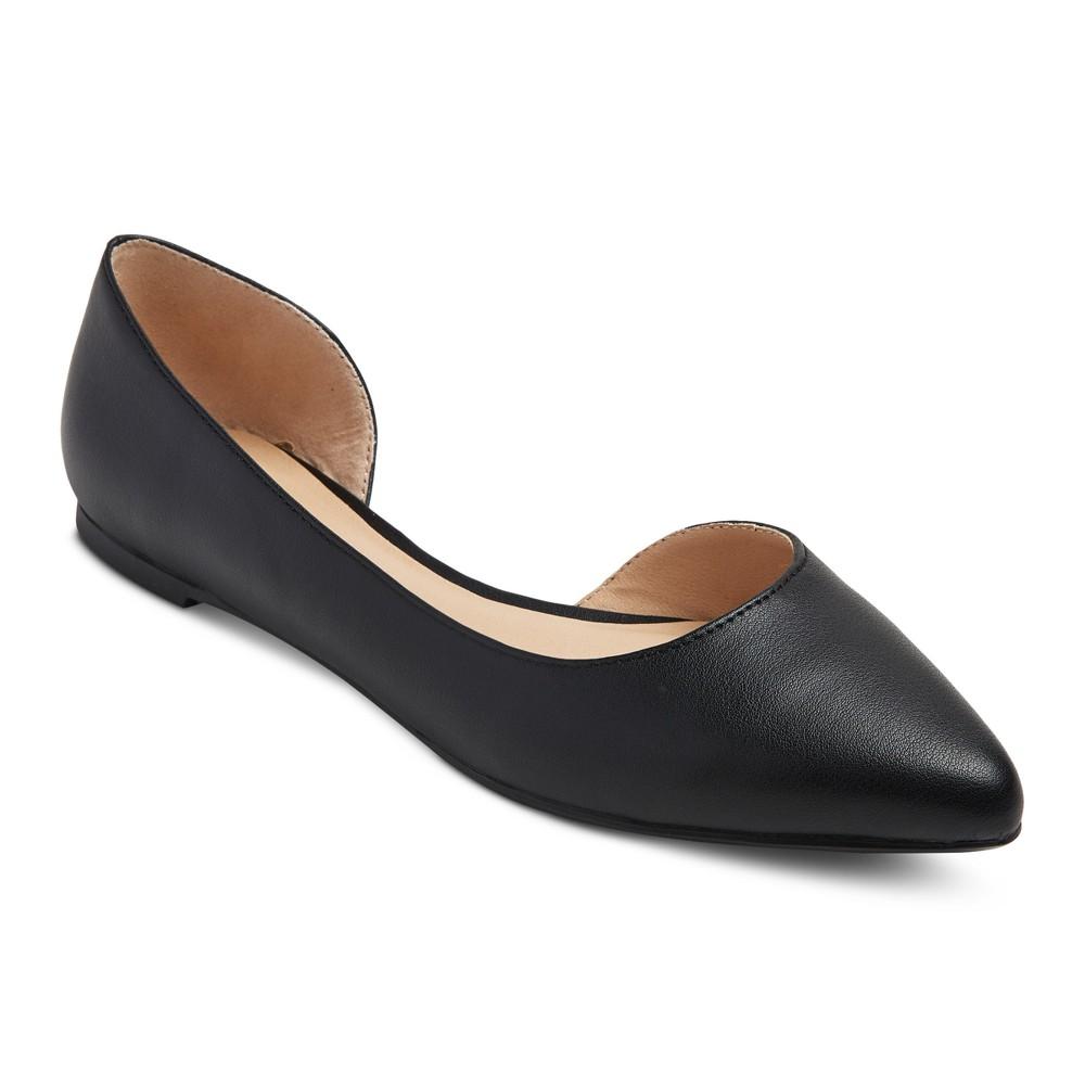 Womens dOrsay Mohana Ballet Flats - Mossimo Supply Co. Black 10