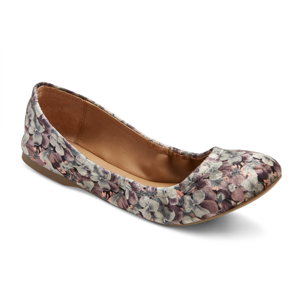 Womens Ona Round Toe Ballet Flats - Mossimo Supply Co. 11, Multi-Colored