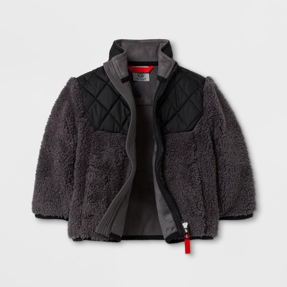 Toddler Boys Fleece Jacket - C9 Champion Black 18M, Black Gray