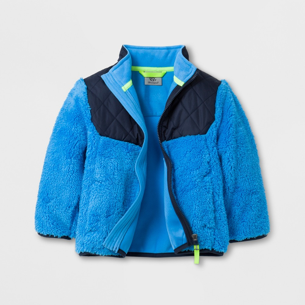 Toddler Boys Fleece Jacket - C9 Champion Blue 3T, Blue/Blue