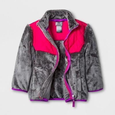 Toddler Girls' Fleece Jacket - C9 Champion® Gray 5T