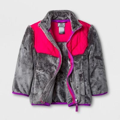 Toddler Girls' Fleece Jacket - C9 Champion® Gray 3T
