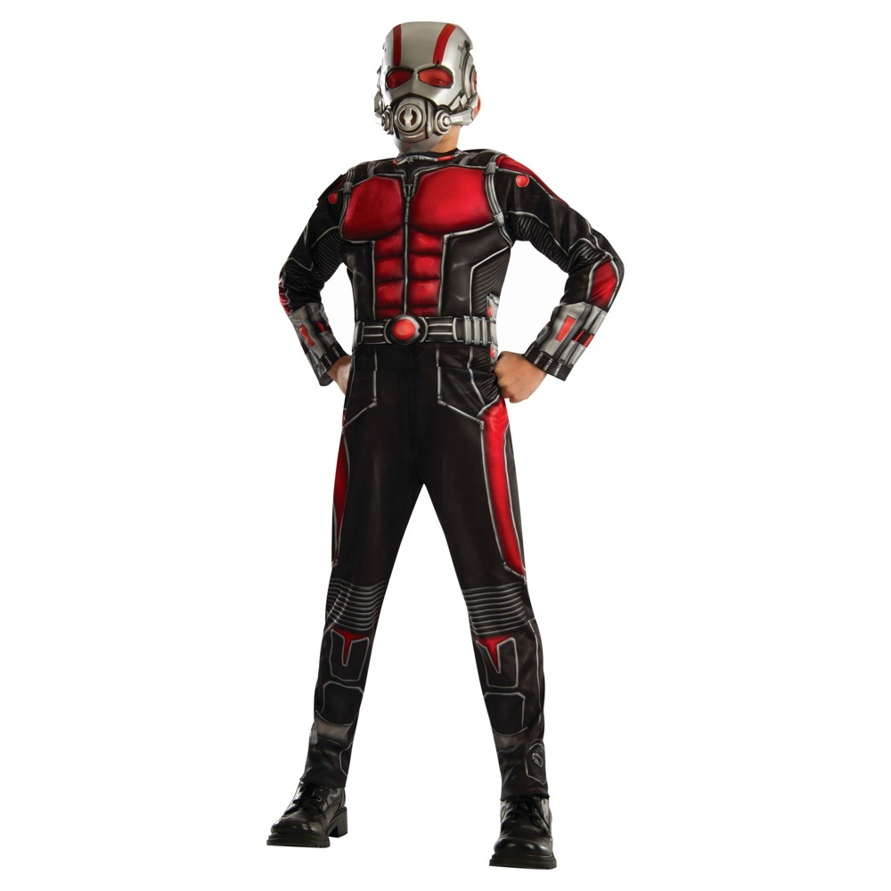 Boys Marvel Ant-Man Boys Deluxe Costume - L (10-12), Multicolored