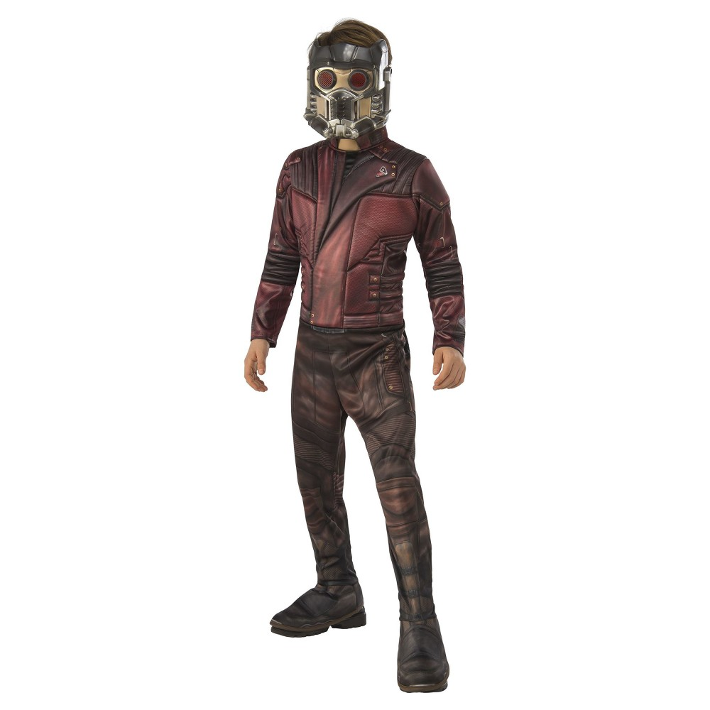 Boys Marvel Star Lord Deluxe Costume - S (4-6), Multicolored
