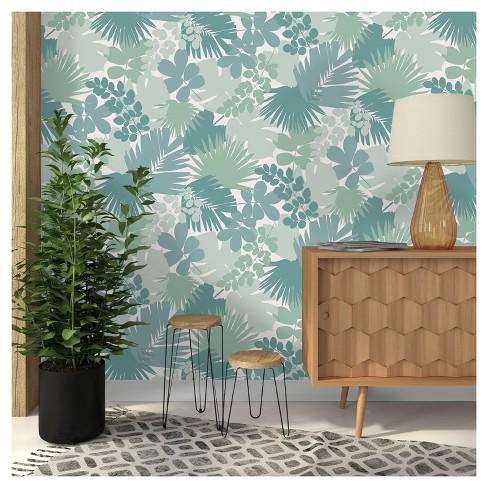 Devine Color Jungle Peel & Stick Wallpaper - Horizon : Target