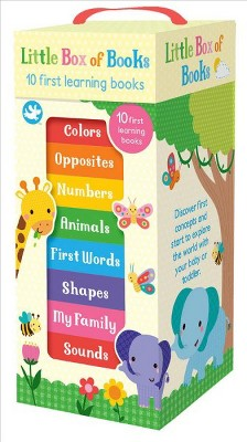 Little Box of Books : 10 First Learning Books (Hardcover)