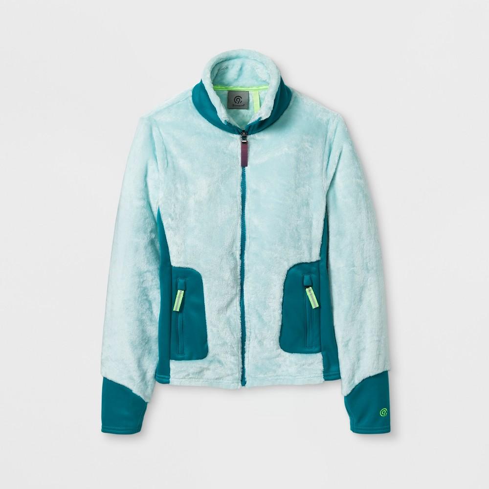 Girls' Fleece Jacket - C9 Champion Blue M